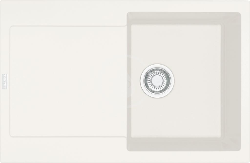 FRANKE FRANKE - Maris Fragranitový dřez MRG 611, 780x500 mm, vanilka (114.0284.848)