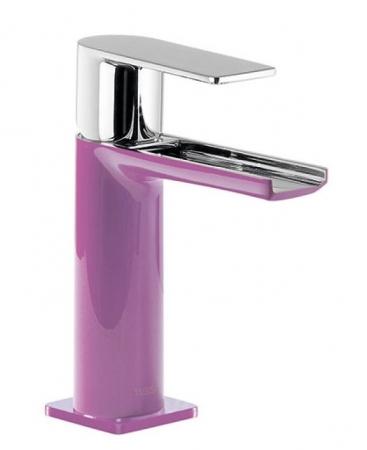TRES - Umývadlová jednopáková batéria ramienko s otvoreným vodopádom. POZNÁMKA: Batéria typu vodopádu je doplnená dvoma Regulačné (20011001VI)