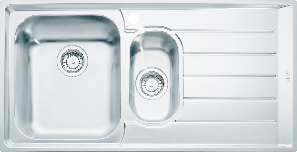 FRANKE FRANKE - Neptun Drez NEX 651/2 z nehrdzavejúcej ocele, 1000x510 mm 101.0120.275