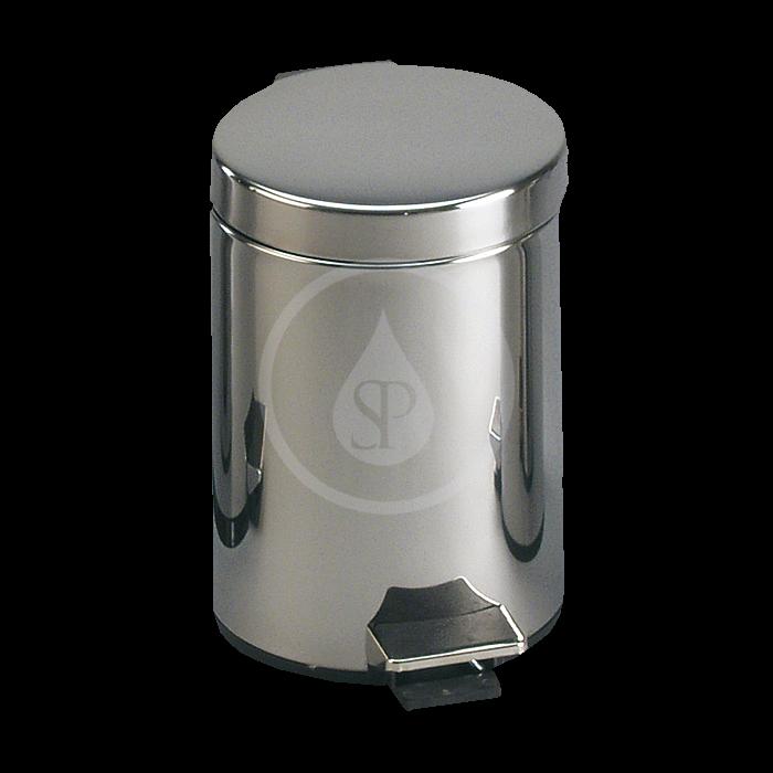 SANELA - Nerezové odpadkové koše Nerezový koš 3 l, povrch matný (SLZN 10X)