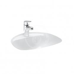 Laufen - Bijou Vstavané umývadlo, 520mmx455mm, 1 otvor na batériu, biela (H8112300000001)