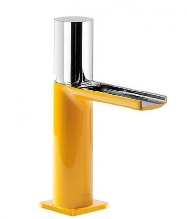 TRES - Umývadlová jednopáková batéria ramienko s otvoreným vodopádom. POZNÁMKA: Batéria typu vodopádu je doplnená dvoma regulačné (20011002AM)