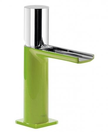 TRES - Umývadlová jednopáková batéria ramienko s otvoreným vodopádom. POZNÁMKA: Batéria typu vodopádu je doplnená dvoma regulačné (20011002VE)