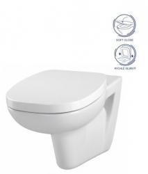 CERSANIT - SET WC FACILE + SEDENIE SOFT CLOSE DURAPLAST (K30-010/K98-0118)