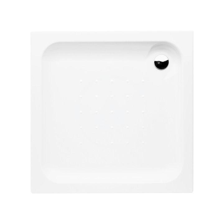 JIKA - Deep Sprchová vanička, štvorcová, samonosná, akrylát, 800 mm x 800 mm x 80 mm, biela H2118210000001