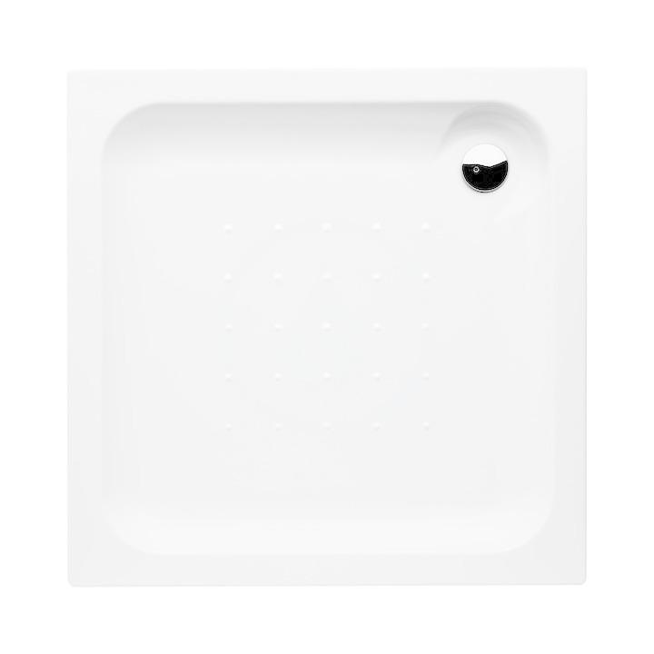 JIKA - Deep Sprchová vanička, štvorcová, samonosná, akrylát, 900 mm x 900 mm x 80 mm, biela H2118220000001