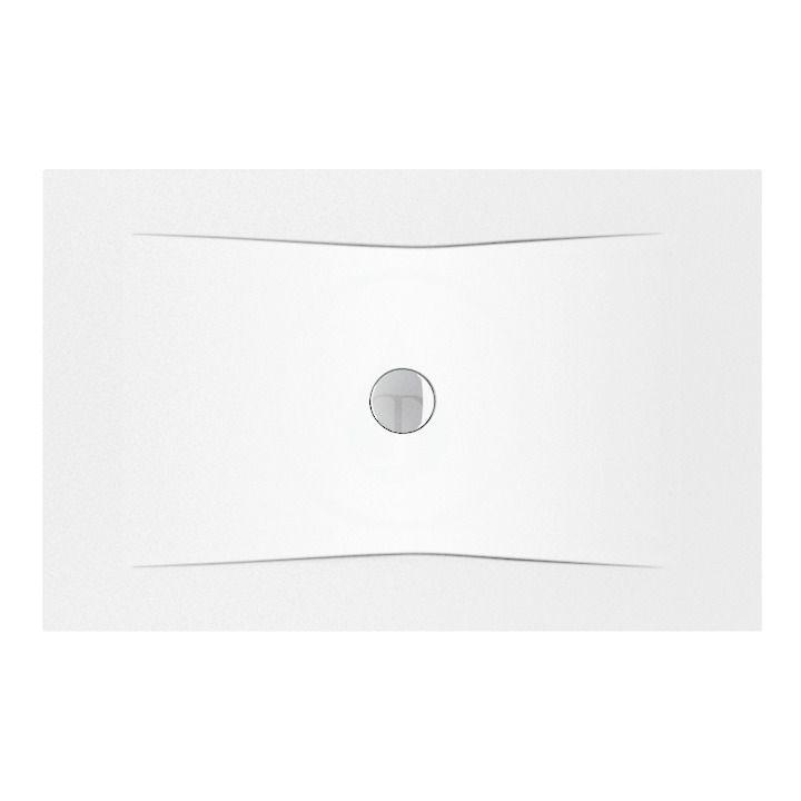 JIKA - Pure Sprchová vanička oceľová premium 1300 mmx900 mm, biela H2164230000001