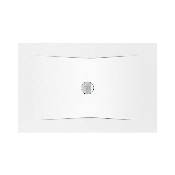 JIKA - Pure Sprchová vanička oceľová premium 1400 mmx900 mm, biela H2164250000001