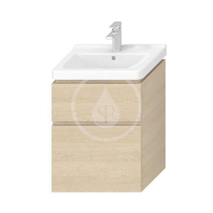JIKA - Cubito Pure Skrinka pod umývadlo 540x683 mm, dub H40J4224025191