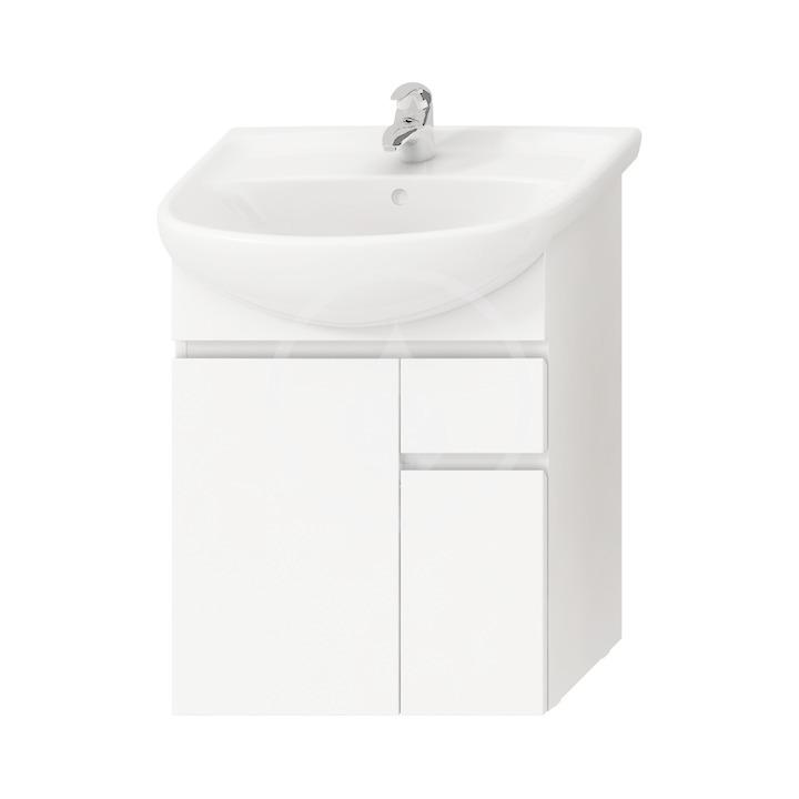 JIKA - Lyra plus Skříňka pod umyvadlo, 592x315x696mm, bílá (H4531320383001)