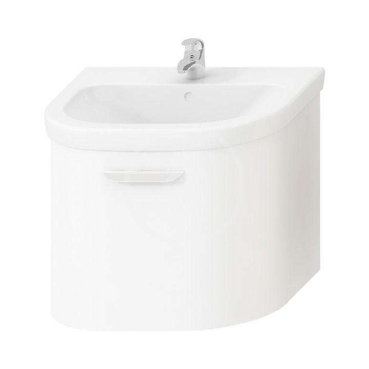 JIKA - Deep Skrinka pod umývadlo 630 mmx480 mm, biela H4541344345001