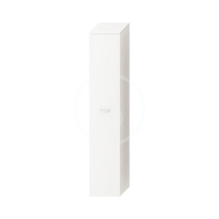 JIKA - Deep Vysoká skrinka závesná, 300 mmx270 mmx1620 mm – skrinka, ľavá, korpus biely, dvere biele H4541514345001