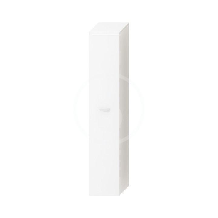 JIKA - Deep Vysoká skrinka závesná, 300 mmx270 mmx1620 mm – skrinka, pravá, korpus biely, dvere biele H4541524345001