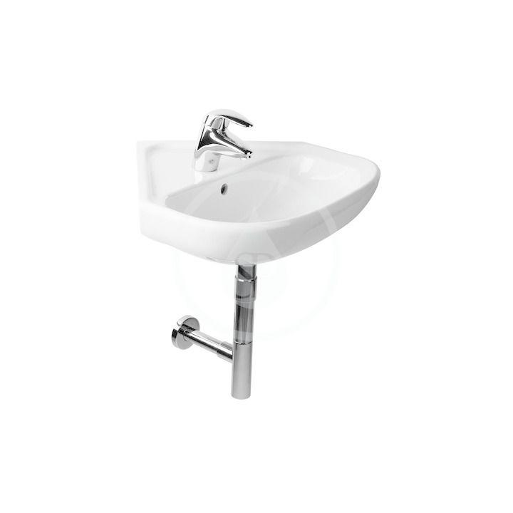 JIKA - Deep Umývadlo jednootvorové, 550x560 mm, biela H8166140001041