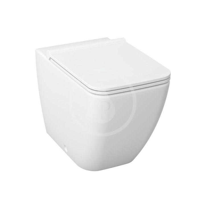 JIKA - Pure Stojacie WC s hlbokým splachovaním, Antibak, biela H8234240000001