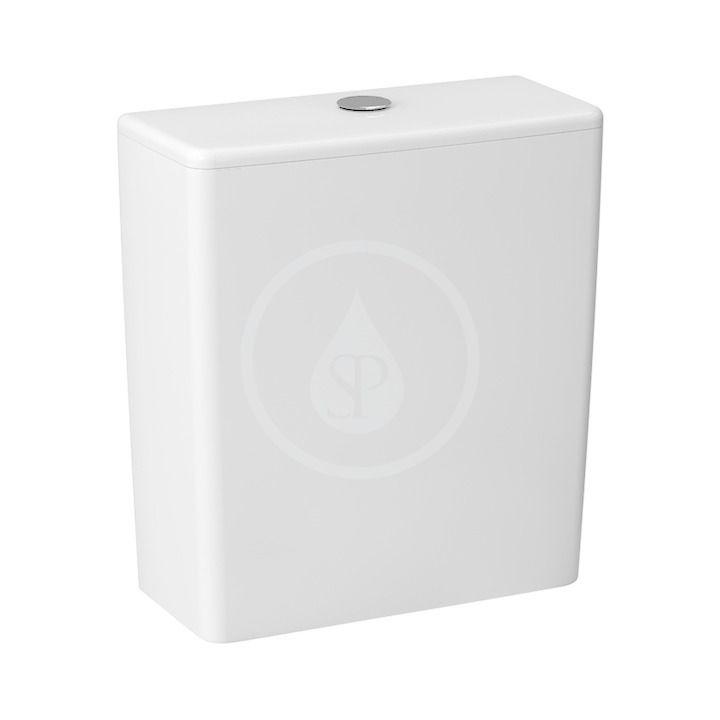 JIKA - Cubito Pure WC nádržka kombi, bočné napúšťanie, Dual Flush, biela H8284220002801