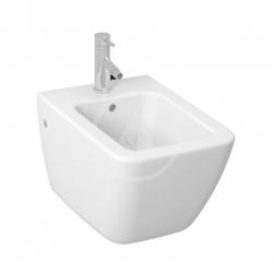 JIKA - Pure Závesný WC bidet, otvor na batériu, s bočnými otvormi, biela (H8304210003041)