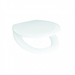 JIKA - Zeta WC sedadlo termoplast, Antibak, biela (H8932710000001)