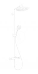 HANSGROHE - Croma Select S Sprchový set Showerpipe 280 s termostatom, EcoSmart, matná biela (26891700)