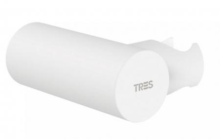 TRES - Nastavitelný kulatý držák, kovový, materiál mosaz (06183901BM)