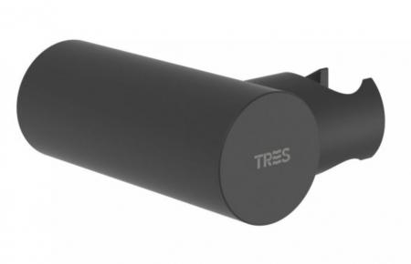 TRES - Nastavitelný kulatý držák, kovový, materiál mosaz (06183901NM)