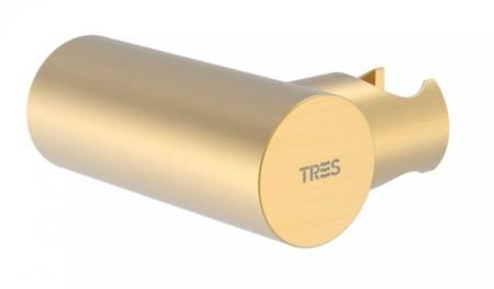TRES - Nastavitelný kulatý držák, kovový, materiál mosaz (06183901OM)