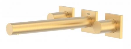 TRES - Nástenná umývadlová batéria, vrátane nerozdělitelného zabudovaného telesa, ramienko 206 mm (21175201OM)