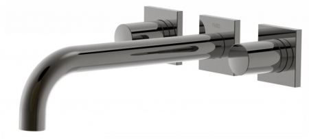 TRES - Nástenná umývadlová batéria, vrátane nerozdělitelného zabudovaného telesa, ramienko 214 mm (21115201KM)