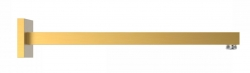 TRES - Nástenné rameno na sprchové kropítko (13413940OM)