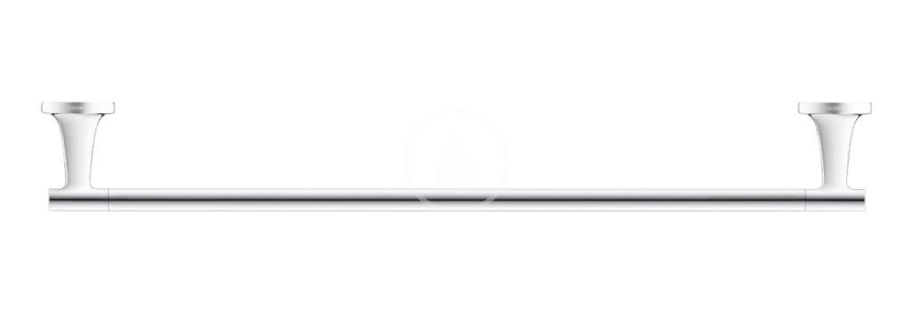 DURAVIT - Starck T Držák ručníků, délka 600 mm, chrom (0099421000)