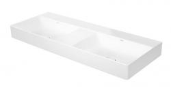 DURAVIT - DuraSquare Dvojumývadlo nábytkové 1200x470 mm, DuraCeram, alpská biela (2353120079)