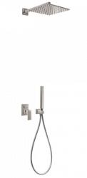 TRES - Podomietkový sprchový set s uzáverom a reguláciou prietoku, vrátane telesa (00698002AC)