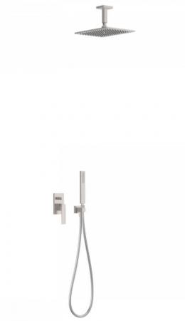 TRES - Podomietková sprchová jednopáková set s uzáverom a reguláciou prietoku, vrátane telesa (20218080AC)