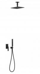 TRES - Podomietková sprchová jednopáková set s uzáverom a reguláciou prietoku, vrátane telesa (20218080NM)