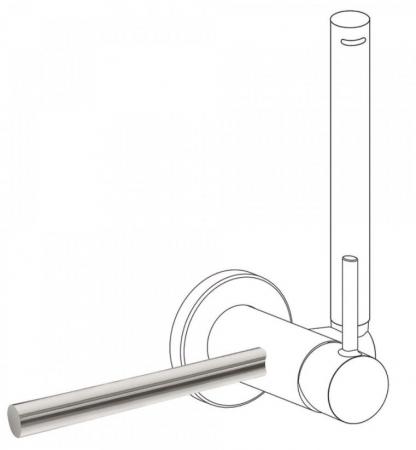 TRES - Príslušenstvo držiak na uteráky 180 mm (03412401AC)