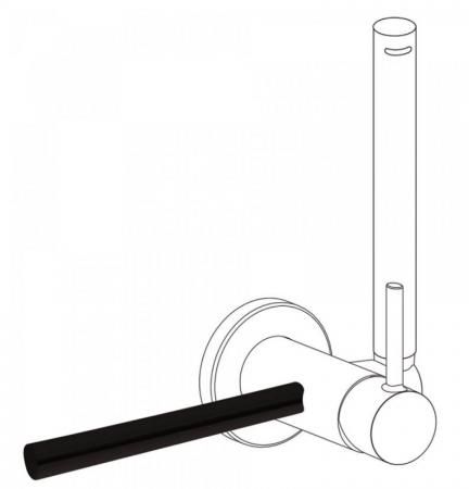TRES - Príslušenstvo držiak na uteráky 180 mm (03412401NM)
