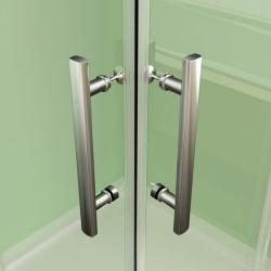 H K - Obdélníkový sprchový kout MELODY R907, 90x70 cm se zalamovacími dveřmi (SE-MELODYR907), fotografie 12/10
