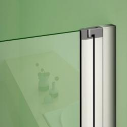 H K - Obdélníkový sprchový kout MELODY R907, 90x70 cm se zalamovacími dveřmi (SE-MELODYR907), fotografie 16/10