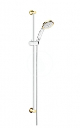 HANSGROHE - Raindance Classic Súprava ručnej sprchy 100 Air 3jet ručná sprcha/sprchová tyč Unica'Classic 0,90 m, chróm/vzhľad zlata (27841090)