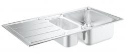 GROHE - Dřezy Drez K500 s automatickým odtokom, 970mm x 500 mm (31572SD0), fotografie 2/3