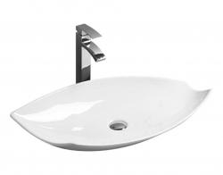 REA - Umývadlo na dosku Betty 72,5x38 biele (REA-U1057)