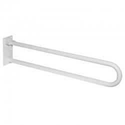 MEREO - Madlo sklopné, biele, 83 cm (KD300)
