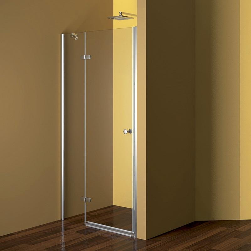 MEREO - Sprchové dveře, Fantasy, 80x190 cm, chrom ALU, sklo Point, levé provedení (CK10112LE)