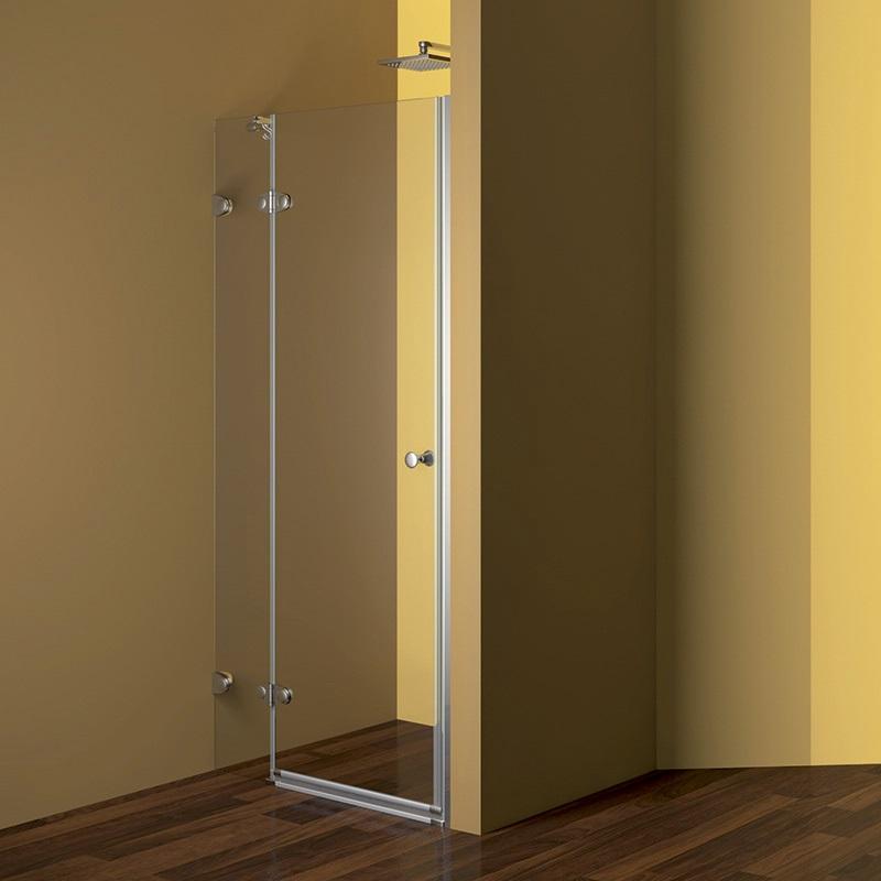 MEREO - Sprchové dveře, Fantasy, 80x190 cm, chrom ALU, sklo Čiré (CK10120E)