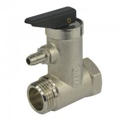 """MEREO - Ventil poisťovací pre bojler, 1/2"""", MxF, 6,5 bar (CR188A)"""