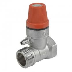 """MEREO - Ventil poisťovací pre bojler, 1/2"""", MxF, 6 bar (CR188B)"""