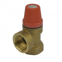 """MEREO - Poisťovací ventil pre bojler s pevne nastaveným tlakom 6 bar, 1/2"""" (PR2413C)"""