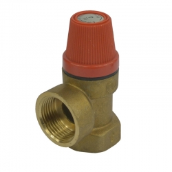 """MEREO - Poisťovací ventil pre bojler s pevne nastaveným tlakom 6 bar, 3/4"""" (PR2415A)"""