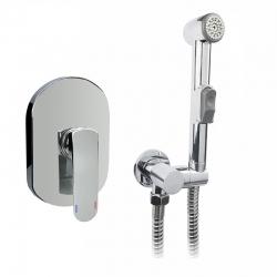 MEREO - Podomietková batéria s bidetovou sprchou, Mada (CBQ60105MBS)