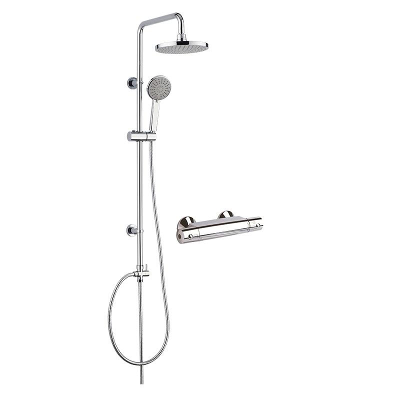 MEREO MEREO - Sprchový set: termostatická baterie + sprch. souprava CB60101SP (BTS05)